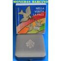006 - VATICANO - 5  EUROS  - MUNDIAL DE  LA PAZ