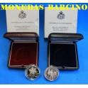 2005- SAN MARINO -5 y 10 EUROS - MILIZIA - OLIMPIADA TORINO