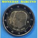 2014 -ESPAÑA - 2 EUROS - FELIPE VI Y JUAN CARLOS I