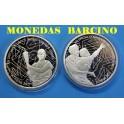 2011 - GRECIA - 10 EUROS- PLATA- OLIMPIADAS 2 MONEDAS