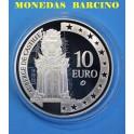 2008 - MALTA - 10 EUROS - PLATA - ALBERGUE DEL CASTILLO