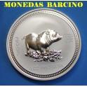 2007 - AUSTRALIA -  ONZA -DOLLAR - CERDO - PORK - PIG