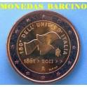 2011 - ITALIA - 2 EUROS - UNIDAD DE ITALIA