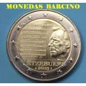 2013- LUXEMBURGO - 2 EUROS - HINNO A LA NACION