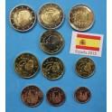 2015 - ESPAÑA- COLECCION - EUROS - BISONTE- BANDERA