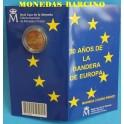 2015 - ESPAÑA - 2 EUROS - PROOF- BANDERA EUROPEA