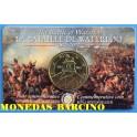 2015 - BELGICA- 2,50 EUROS - LA BATALLA DE WATERLOO