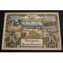 1922 - MEMEL - LITUANIA - 50 MARK - BILLETE- BANKNOTE