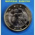 2017 -  SAN MARINO -1  EUROS - ESCUDO