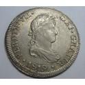 1819 - FERNANDO VII - 2 REALES - LIMA