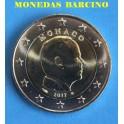2017 - MONACO - 2 EUROS - ALBERTO II