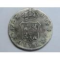 1832 - FERNANDO VII - 1/2 REAL - MADRID