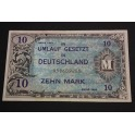 1944  ALEMANIA -GERMANY-  10 MARK - BILLETE - BANKNOTE