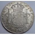 1800 - CARLOS IV - 8 REAL - LIMA - PERU - COLUNNAS