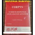 LIBRO - CORPVS - LAS MONEDAS HISPANICAS - VILLARONGA - CATALOGO
