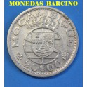 1955 -  MOZAMBIQUE - 20 ESCUDOS - REPUBLICA PORTUGUESA