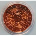 2012 AUSTRIA - 5 EUROS - ESQUI ALPINO-SCHLADMING  REPUBLIK OSTERREICH