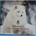 2005 - FINLANDIA - EUROS - BLISTER-RAHASARJA I  SUOMI FINLAND