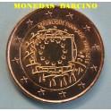 2015 - FRANCIA- 2  EUROS - BANDERA  DE EUROPA
