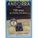 2017 - ANDORRA - 2 EURO - HIMNO DE ANDORRA  - COINCAR