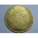 1789 - 8 ESCUDOS -CARLOS III- SANTIAGO-CHARLES III-GOLD-ORO