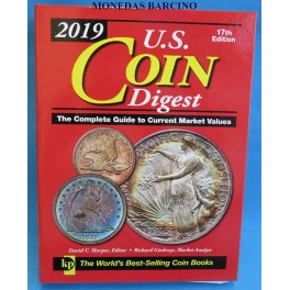 2019 - CATALOGO - MONEDAS DE ESTADOS UNIDOS  - USA - COIN DIGEST LIBRO