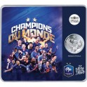 2018 - FRANCIA - -FRANCE - 10 EUROS - CHAMPIONS DU MONDE