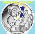 2018 - FRANCIA - -FRANCE - 50 EUROS - MICKEY MOUSE - COLOREADA - UNIVERSIDAD - PARIS PLATA