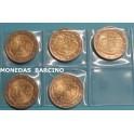 2013 - ALEMANIA - 5 MONEDAS DE 2  EUROS - ELYSEO- 5 CECAS