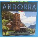 2018 - ANDORRA - EUROS-  BLISTER - COLECCION 8 MONEDAS
