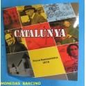 2018 CATALUNYA -  EUROS - COLECCION DE 8 MONEDAS -PRUEBAS NUMISMATICAS