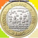 2018 - FINLANDIA - 5 EUROS   - BIMETALICA - MAUNO KOIVISTO -FINLAND