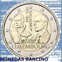 2018 - LUXEMBURGO - 2 EURO - ANIVERSARIO GRAN DUQUE GUILLERMO