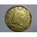 1758 - FERNANDO VI - 1/2 ESCUDO - MEDIO ESCUDO- SEVILLA - ORO  GOLD
