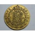 1791 - CARLOS IV-  1 ESCUDOS - MADRID - ORO- CHARLES IV-GOLD
