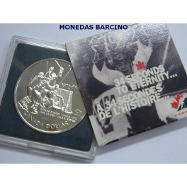 1997 - CANADA -  DOLLAR -  MATCHS CANADA/URSS 1972- PLATA