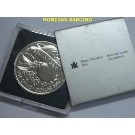 1996 - CANADA -  DOLLAR - FRUTA - MATCHS - PLATA