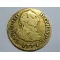 1774 -CARLOS III- 1/2 ESCUDOS -MADRID- ESPAÑA  -GOLD-ORO