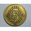 1788 -CARLOS III- 1/2 ESCUDOS - SEVILLA - ESPAÑA  -GOLD-ORO