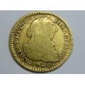1782 -CARLOS III- 1 ESCUDOS - POPAYAN- COLOMBIA - ESPAÑA  -GOLD-ORO