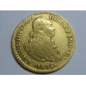 1806 - CARLOS IV-  1 ESCUDOS - MEXICO - ORO- CHARLES IV-GOLD