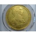 1776 - 8 ESCUDOS -CARLOS III-MEJICO- MEXICO-CHARLES III-GOLD-ORO