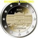 2019 -  ALEMANIA - 2 EUROS  - BUNDESRAT - DEUTSCHLAND - BERLIN