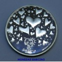 2003 - PORTUGAL - 8 EUROS - PLATA - FUTBOL PASION - CORAZON
