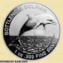 2019  AUSTRALIA - 1 ONZA -DOLLAR - DELFIN - DOLPHIN - PLATA