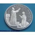 1995 - ANDORRA - 10 DINARS - AGNUS - DEI -KAROLUS MAGNUS
