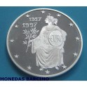 1997 -  ANDORRA - 10 DINERS - TEATRO DE ROMA