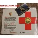 1991 - ANDORRA - 25 DINERS - CRUZ ROJA -VEGUERIA EPISCOPAL