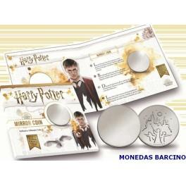 2019 - HOLANDA  - NEDERLAND - MIRROR COIN - MONEDA ESPEJO HARRY POTTER -