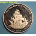 1988- REPUBLICA DOMINICANA - 1 PESO - PIEFOR